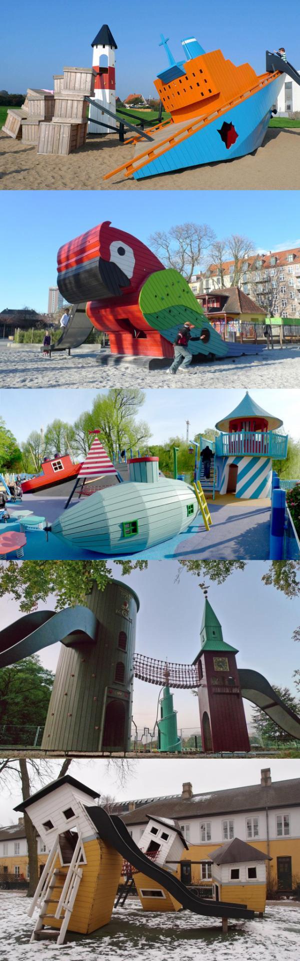 Creatieve speeltuintjes voor de kids