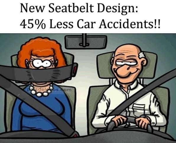 Nieuw ontwerp autogordel