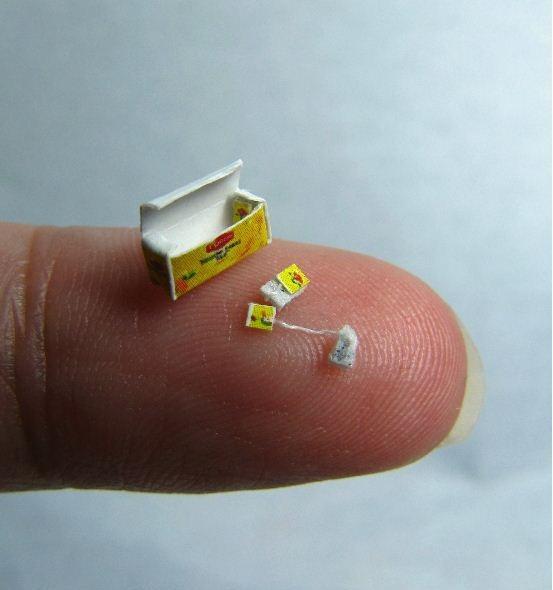 Kleinste theezakje ooit