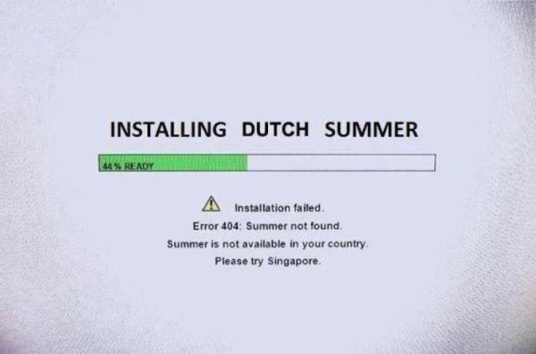 Installing Dutch Summer