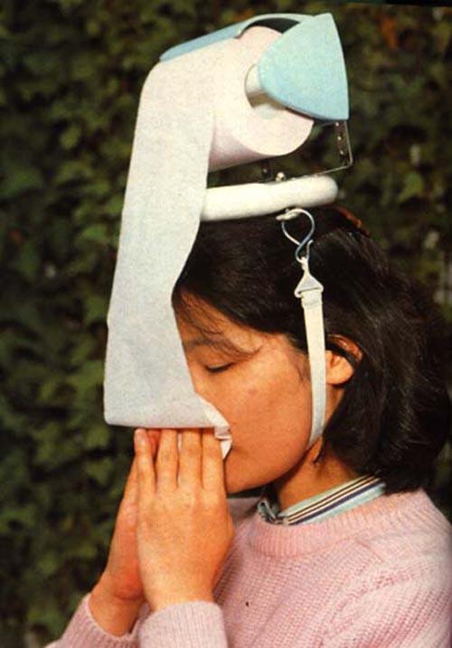 Handig voor als je verkouden bent