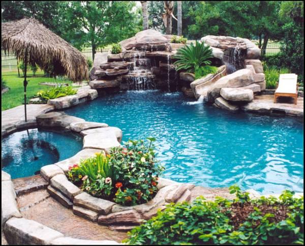 Dit zwembad wil ik in mijn tuin grappige plaatjes