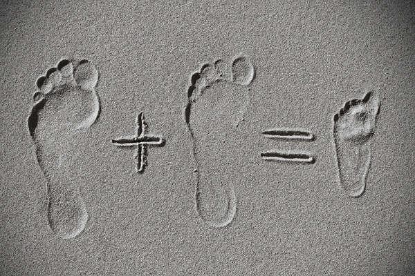 2 voeten is samen 1 voetje