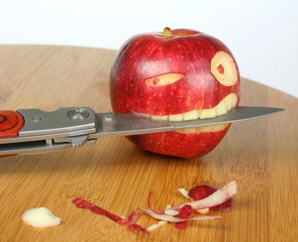 Leuk gesneden appeltje
