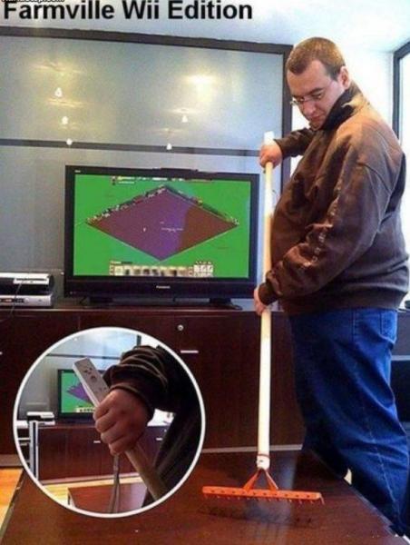 Farmville voor de Nintendo Wii