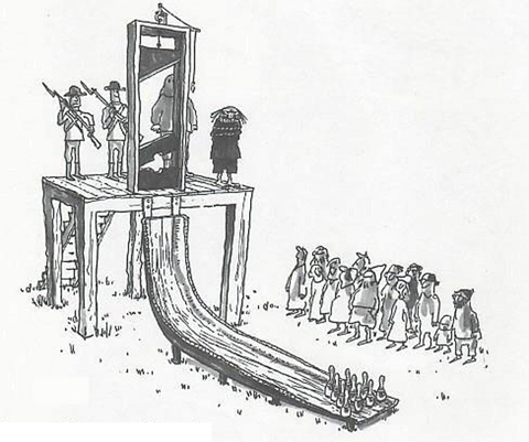 Een bowlingbaan anno 1600
