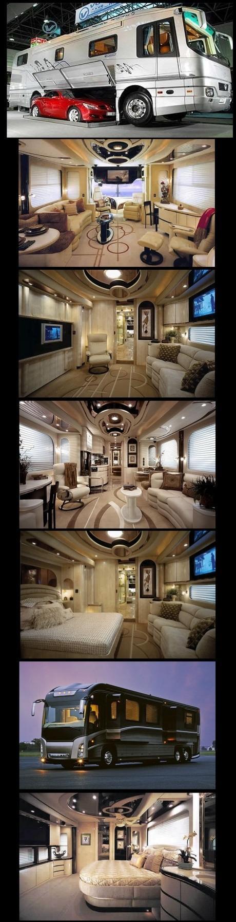 Extreem luxe bus