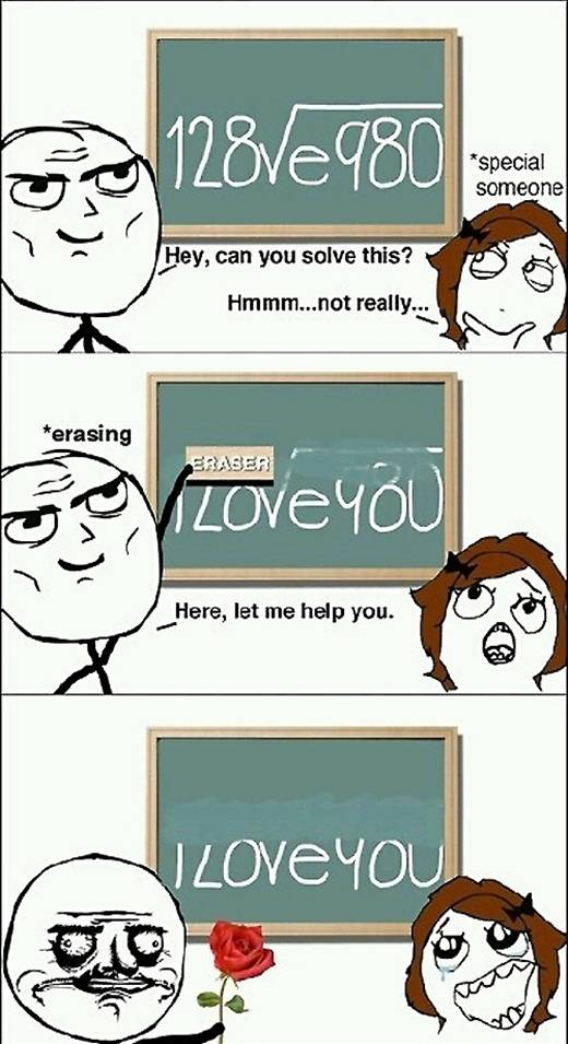 Funny Ways To Say I Love You Quotes : Beste wiskunde formule ooit Grappige Plaatjes