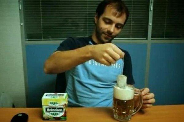 Heineken thee