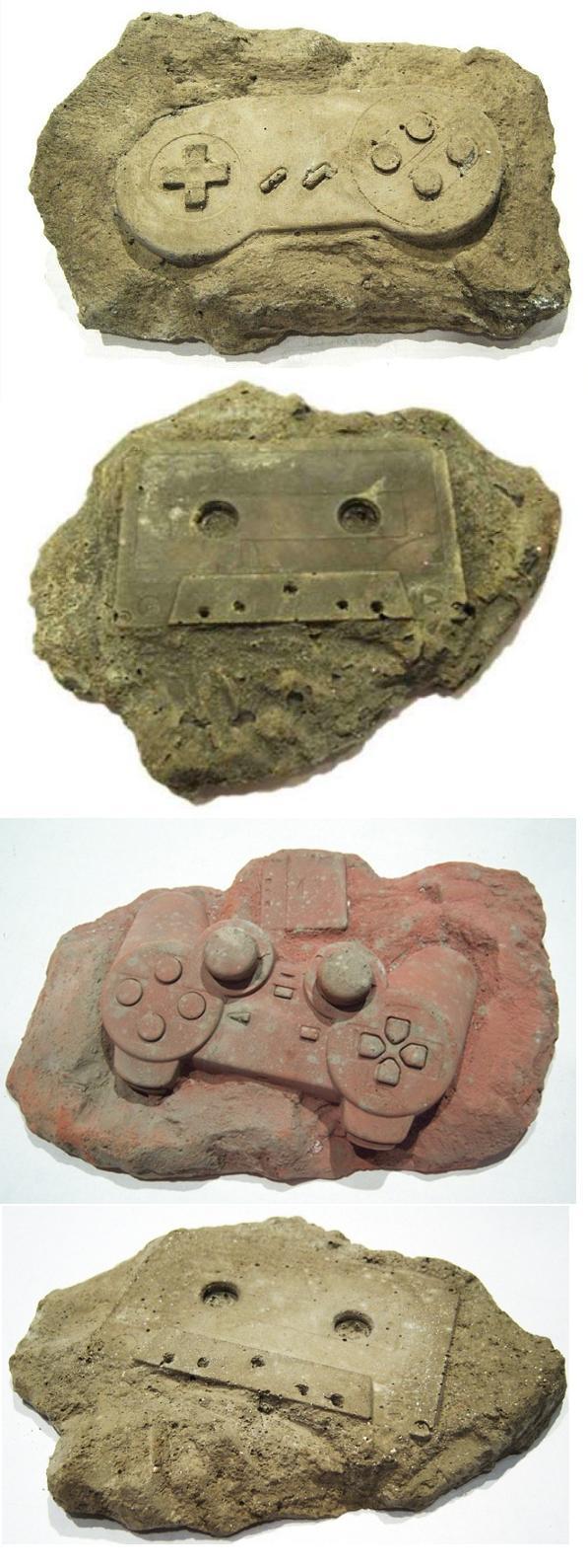 Moderne fossielen
