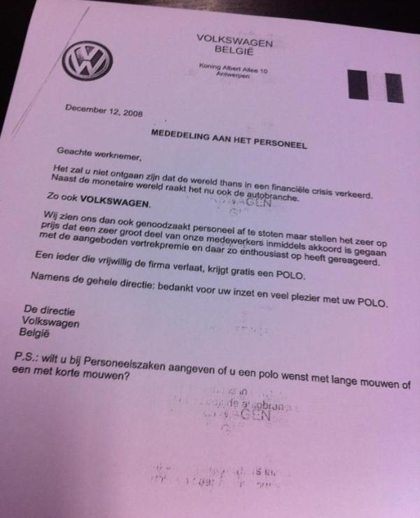 Gratis Volkswagen Polo?